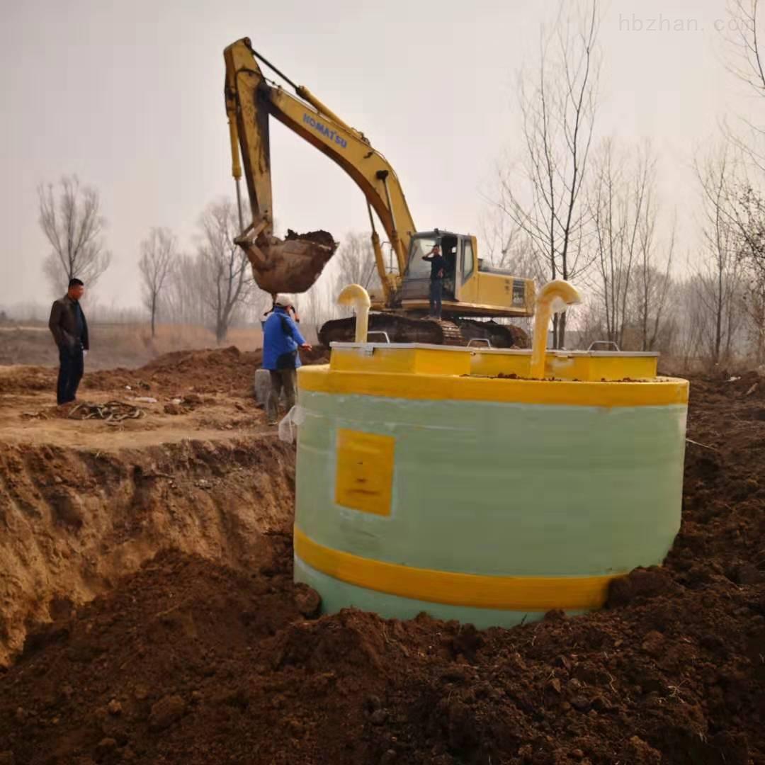 汕头农村一体化提升泵站工艺流程