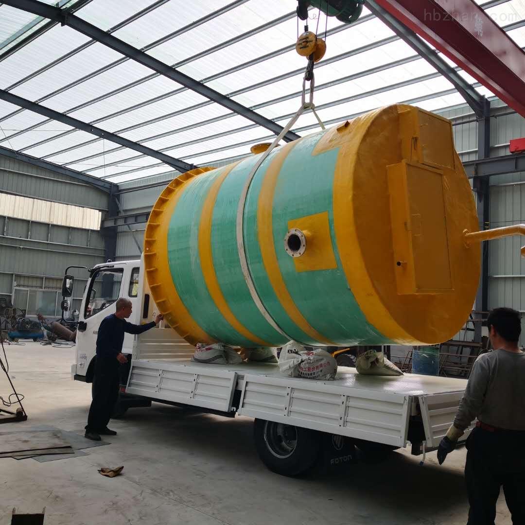 扬州食品厂一体化预制泵站应用范围