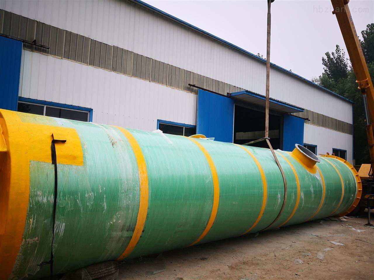 平凉景观池一体化提升泵站技术参数