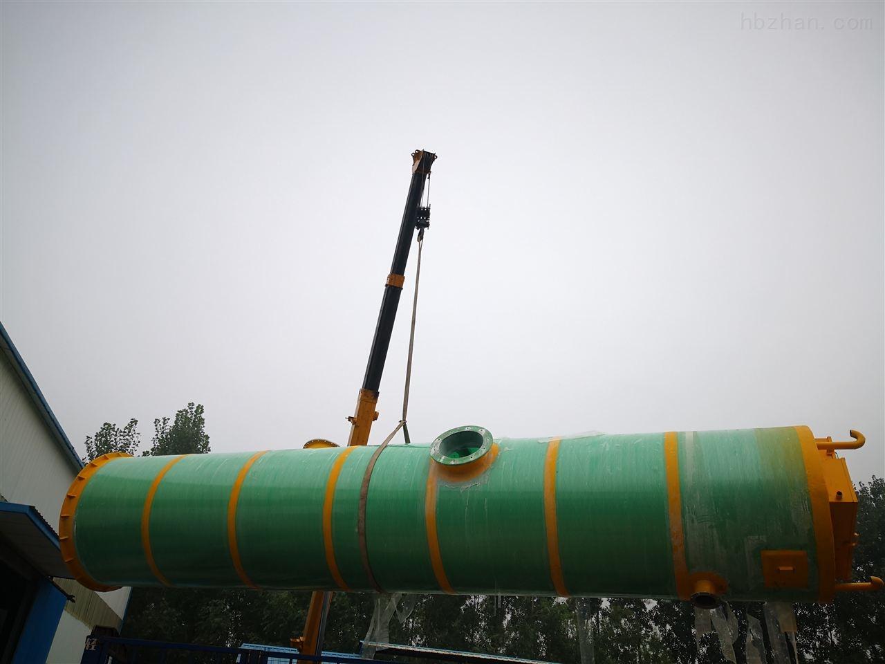 七台河玻璃钢一体化提升泵站点击查看