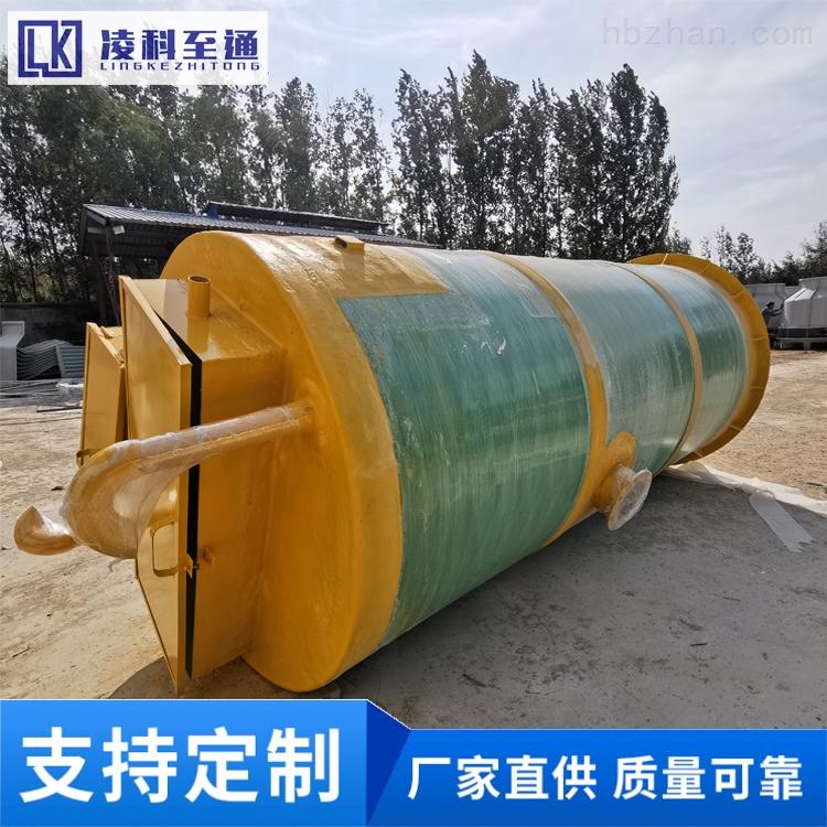 常德食品厂一体化预制泵站污水处理成套设备