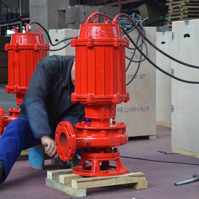 供应喜之泉消防泵,XBD-Q立式单级 消防泵示例图5