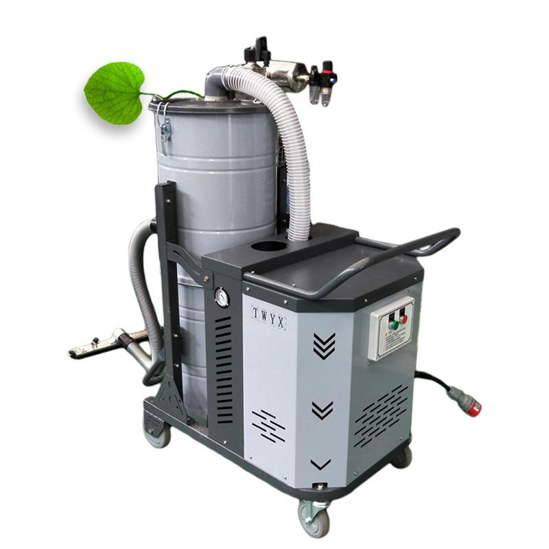 重型SH7500 脉冲工业吸尘器 7.5KW大吸力全自动脉冲工业吸尘器 吸尘器厂家示例图5
