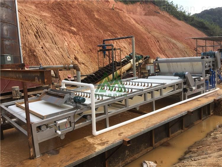 石料场泥浆处理机石料场污泥脱水机好不好