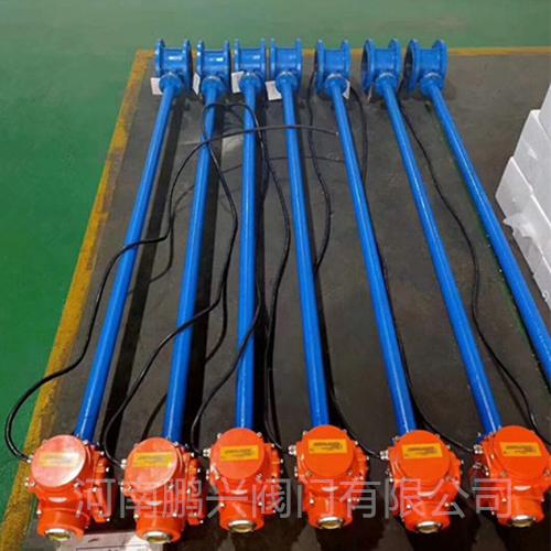 潜水型电动加长杆蝶阀