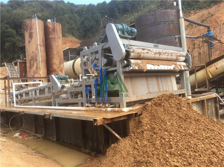 矿山砂石场泥浆压干设备 污泥脱水设备厂家