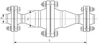 不锈钢天然气阻火器图