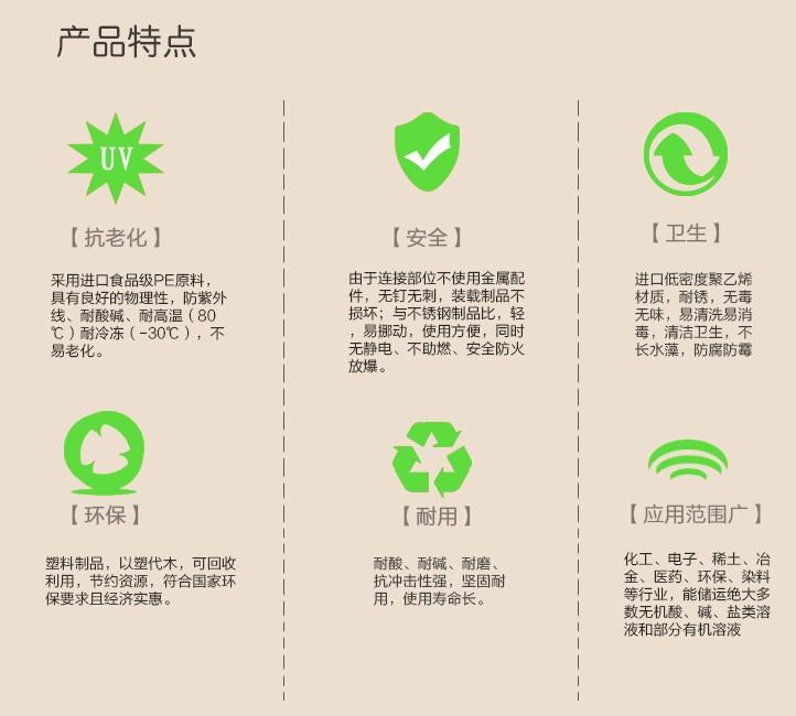 武汉诺顺PE塑料水箱 滚塑储水容器