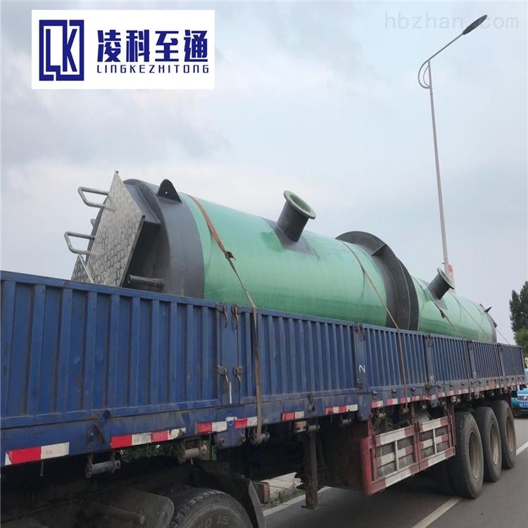 玻璃钢一体化提升泵站全自动一体化提升泵站预制泵站一体化