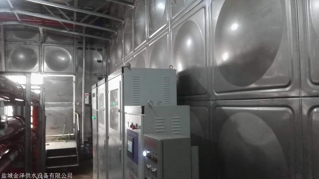 上海青浦区不锈钢消防水箱具体施工方案