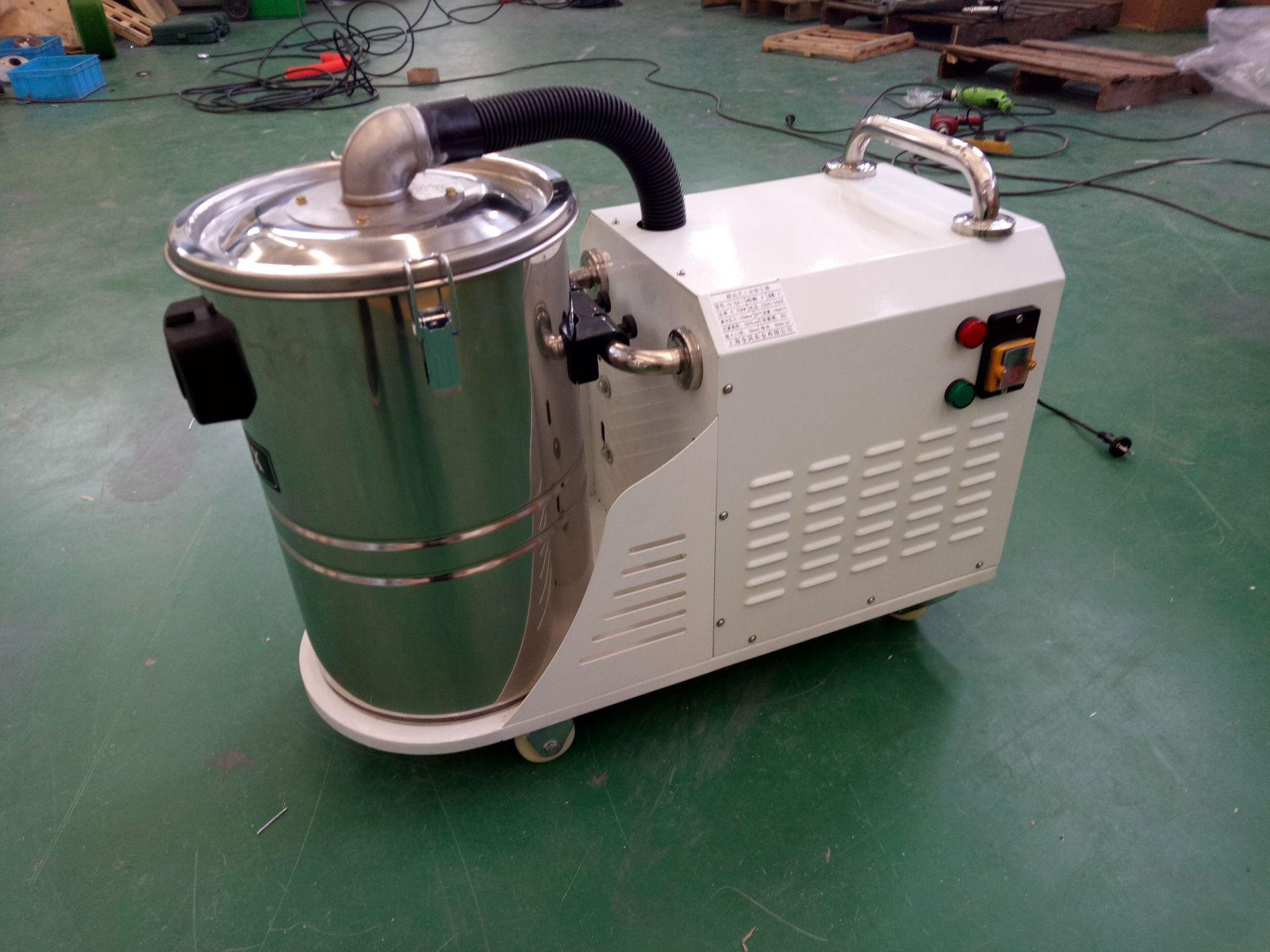 厂家吸石墨粉尘吸尘器 移动式脉冲反吹工业吸尘器 铝屑吸尘器示例图18
