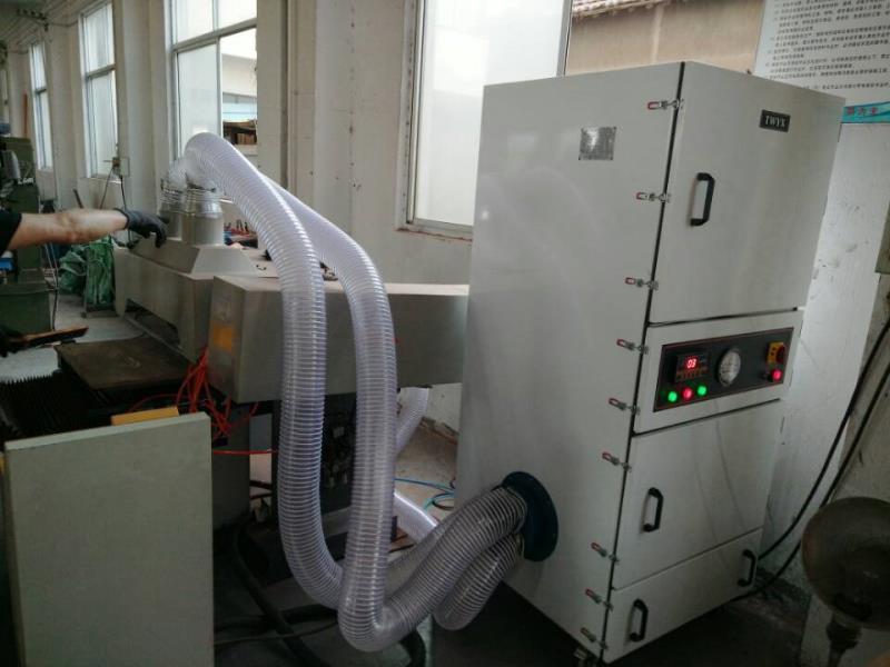 厂家磨床吸尘器  0.75kw磨床粉尘除尘器  JC-750-2砂轮机打磨集尘器   机床铝屑粉尘吸尘器移动式示例图6