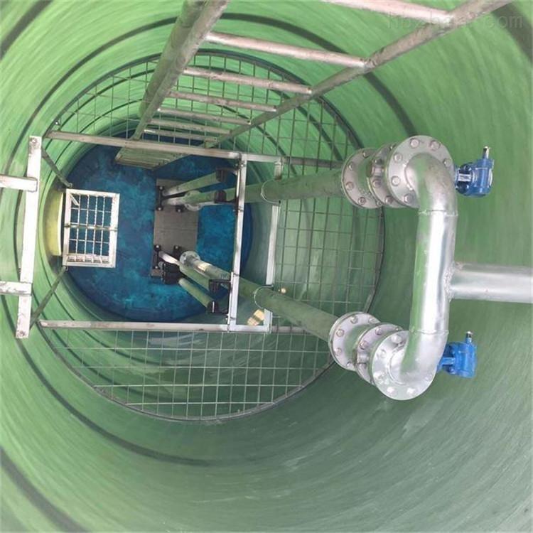 地埋式一体化提升泵站隔油污水提升设备pe预制一体化泵站