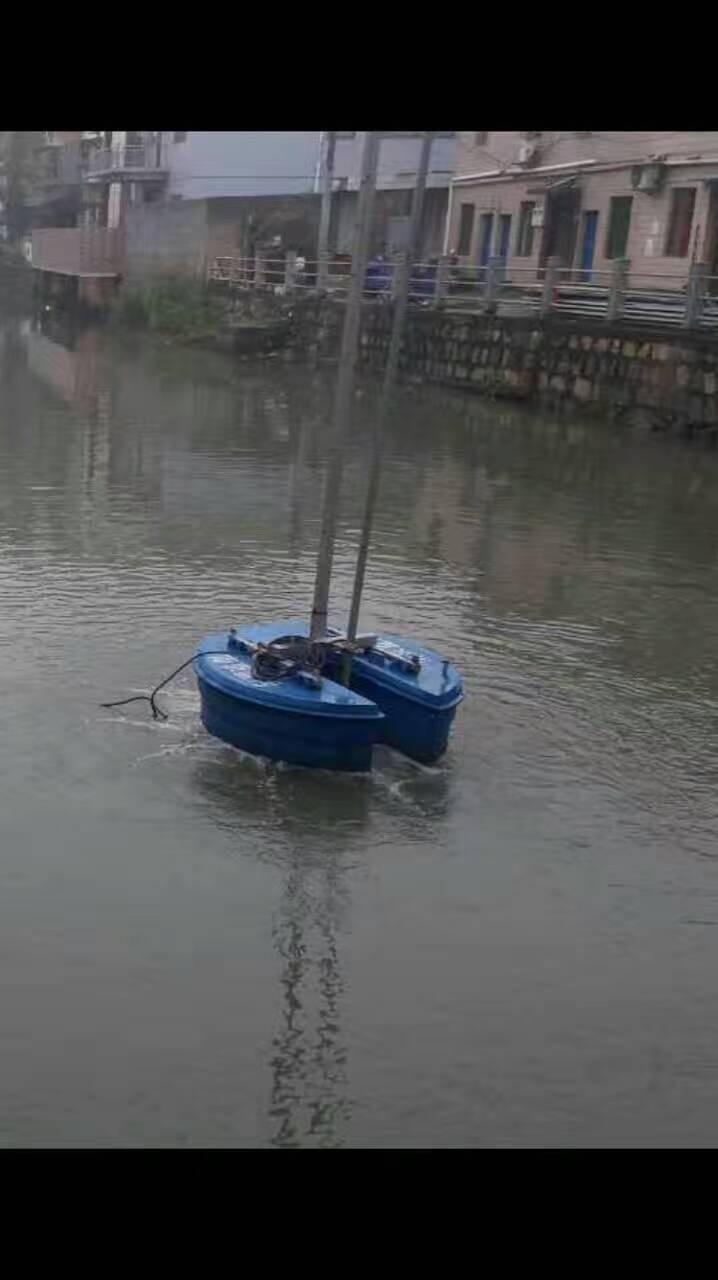 浮筒造流曝气机安装步骤图