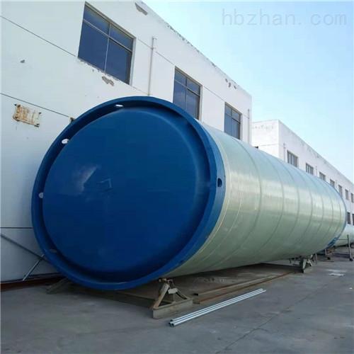 江西宜春φ2*6.6m一体化雨水泵站厂家