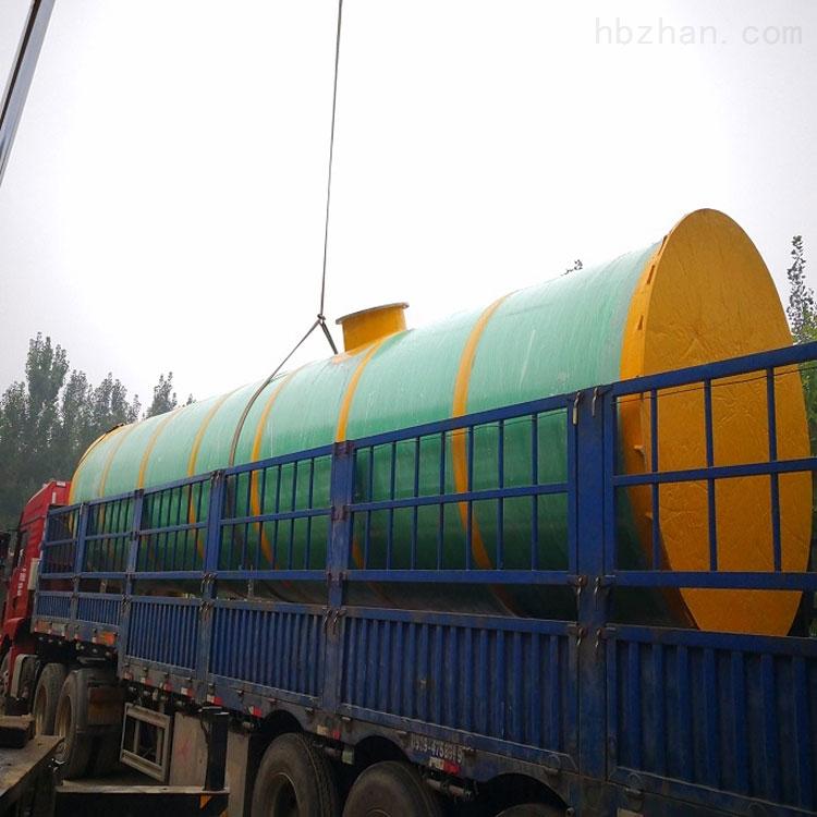 唐山市地埋式一体化预制泵站工作原理