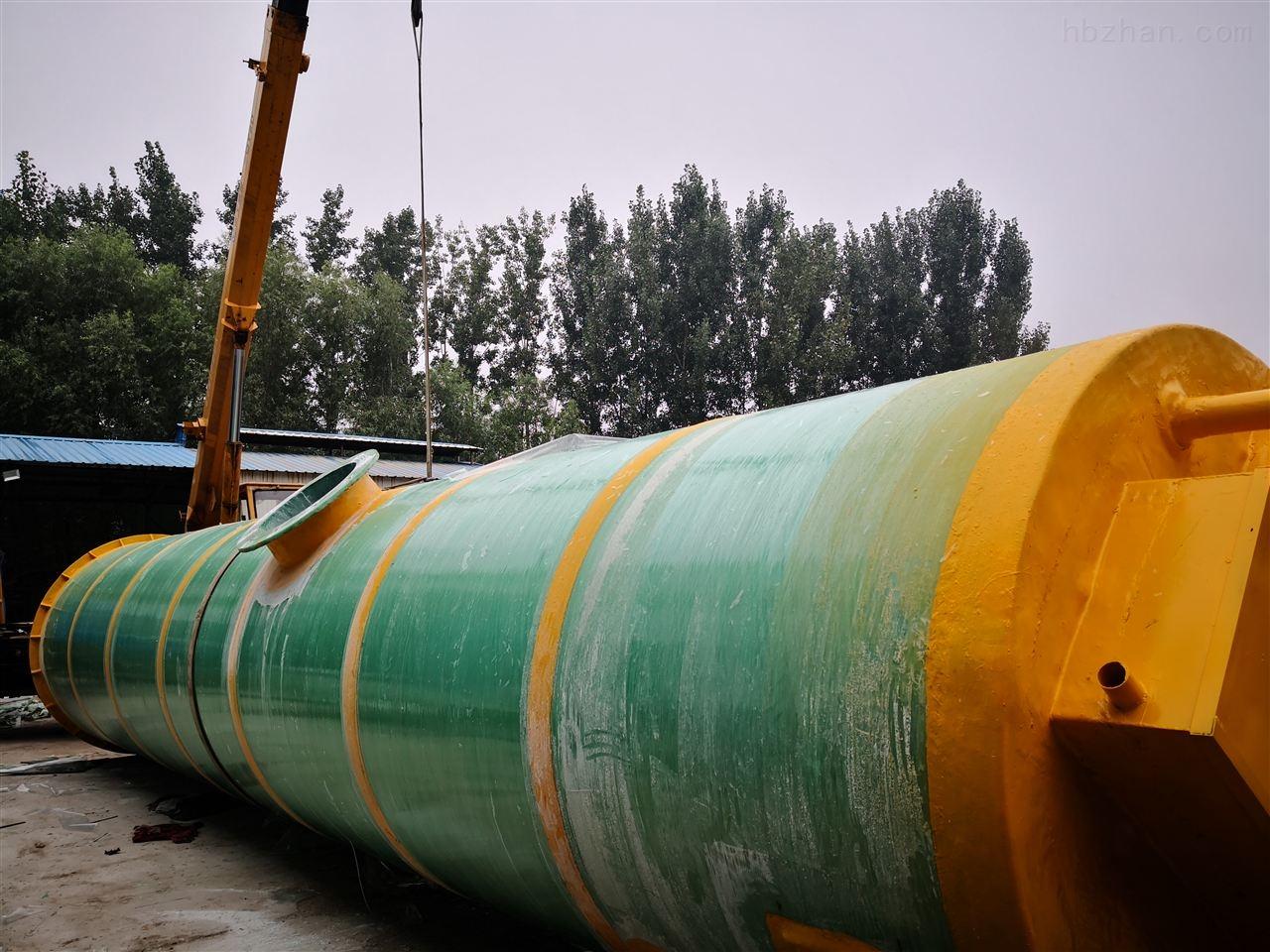 邯郸市市政给排水一体化预制泵站铸造辉煌