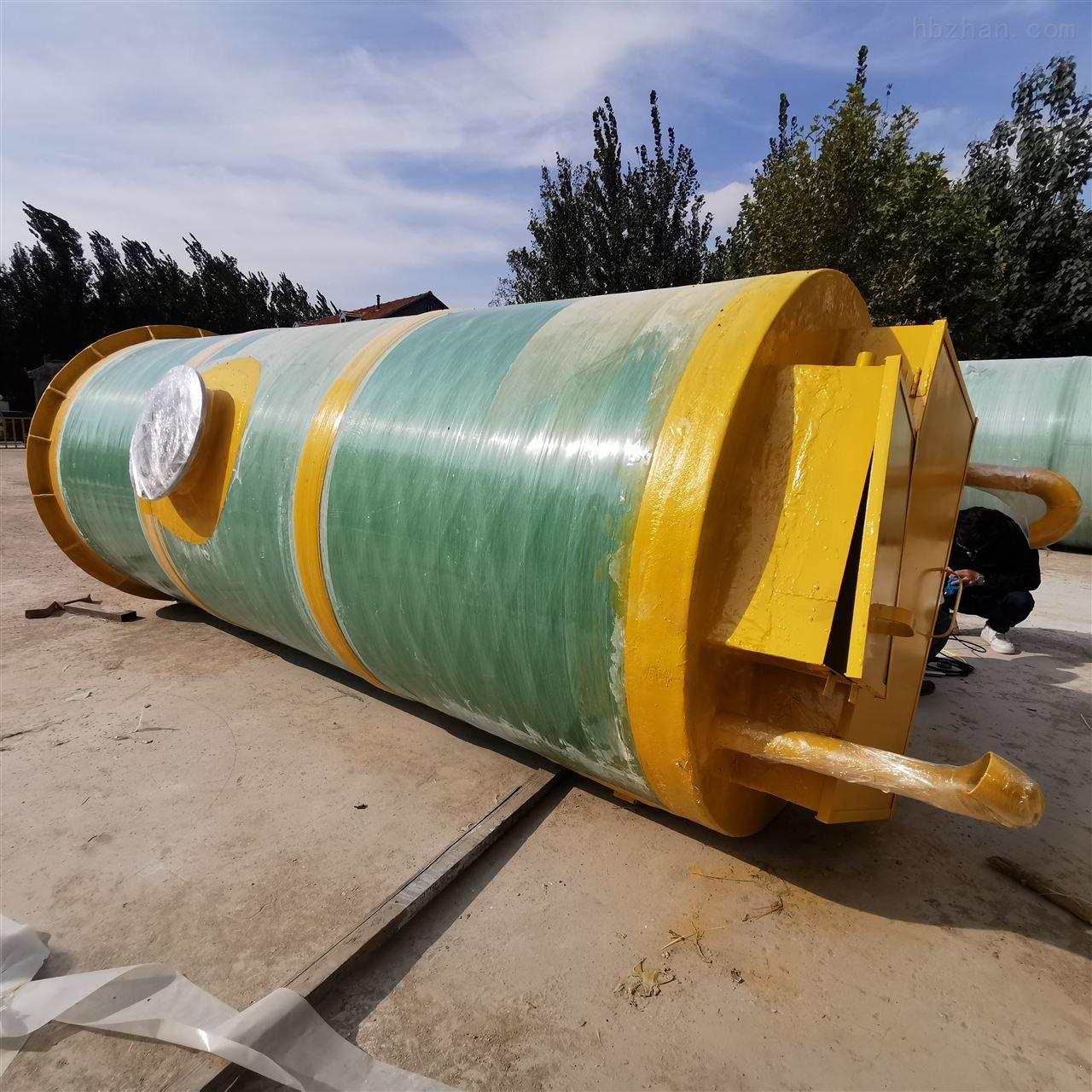 保定市农村一体化预制泵站工艺流程