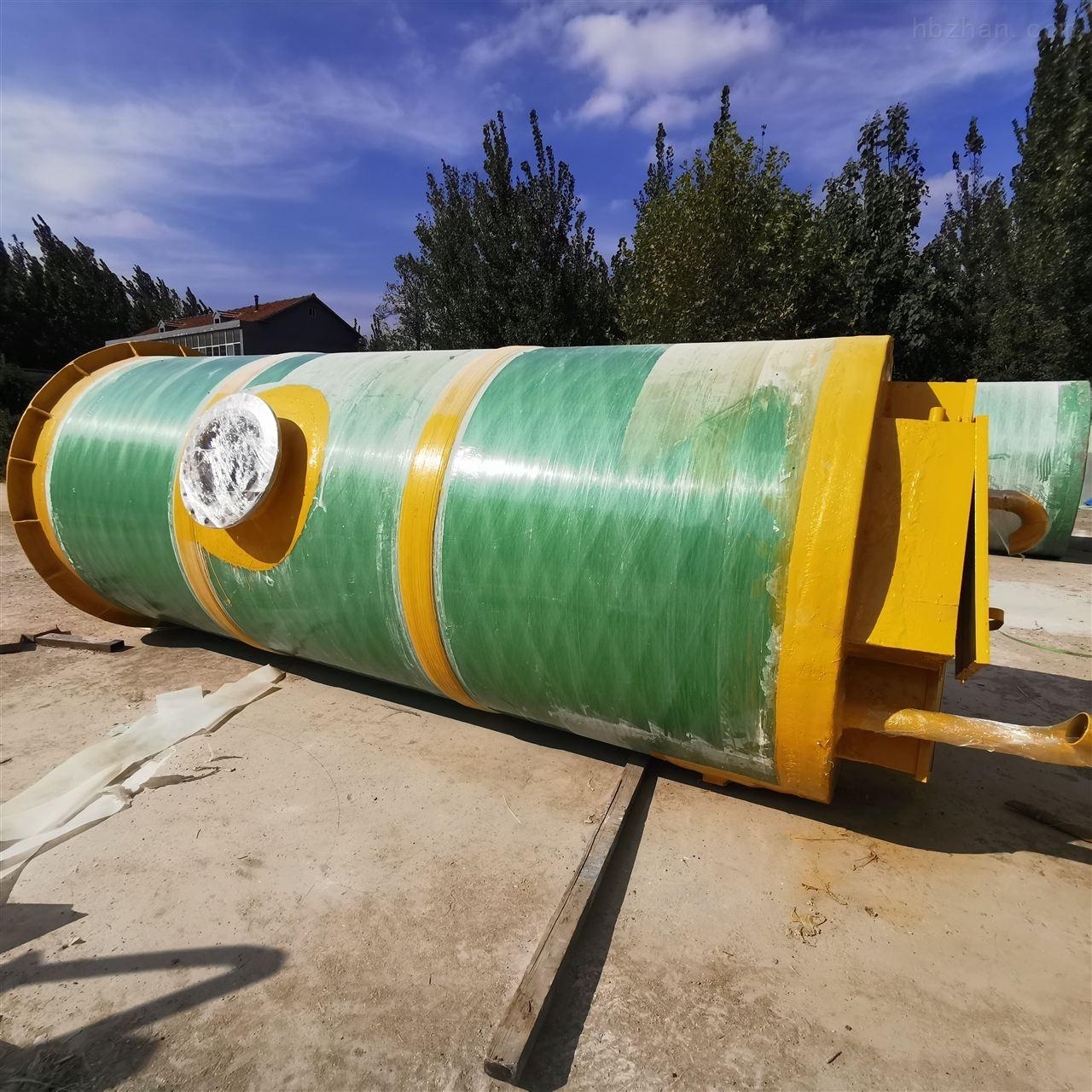 张家口市地埋式一体化提升泵站图纸定做铸造辉煌