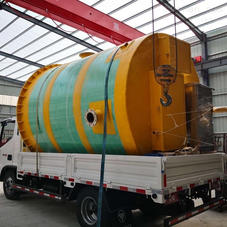 承德市工业园一体化提升泵站安装环境