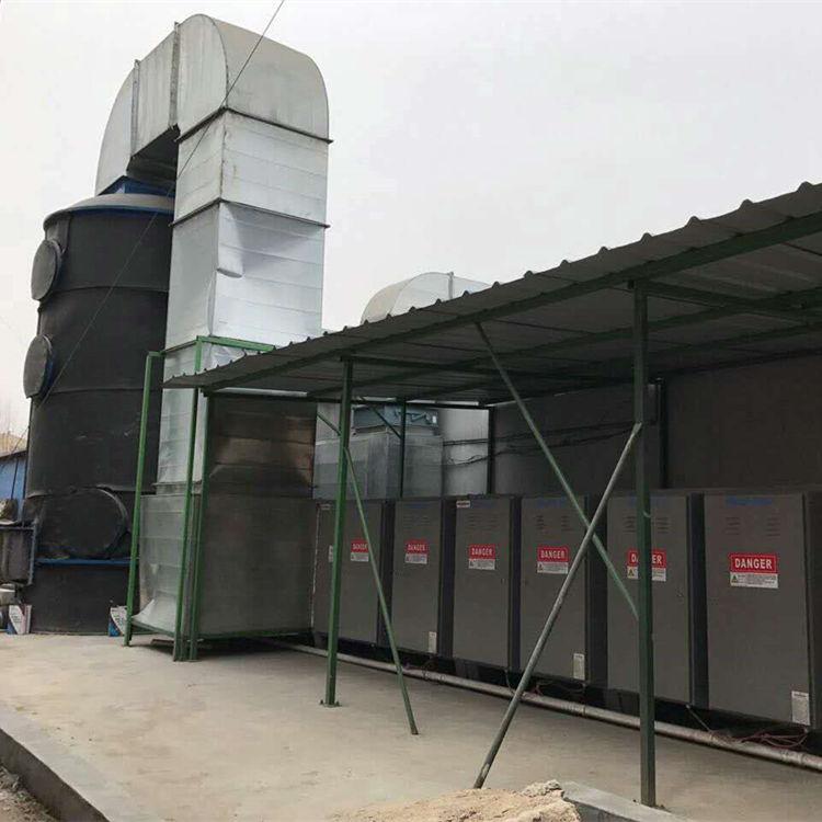 辽宁涂装废气处理工艺-汽车喷涂废气处理工艺工程实拍图4