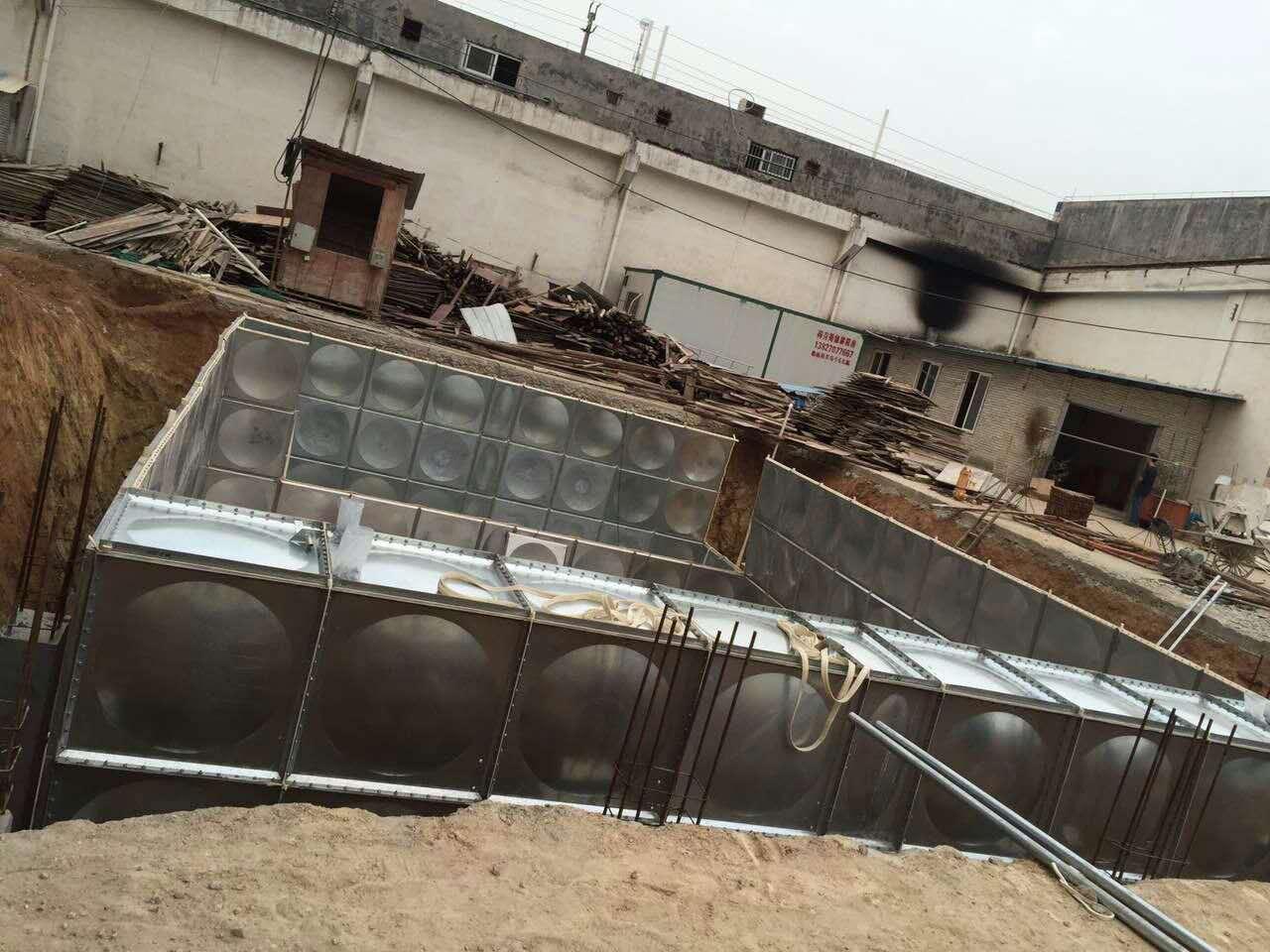 西藏日喀则抗浮式地埋式箱泵一体化消防水池