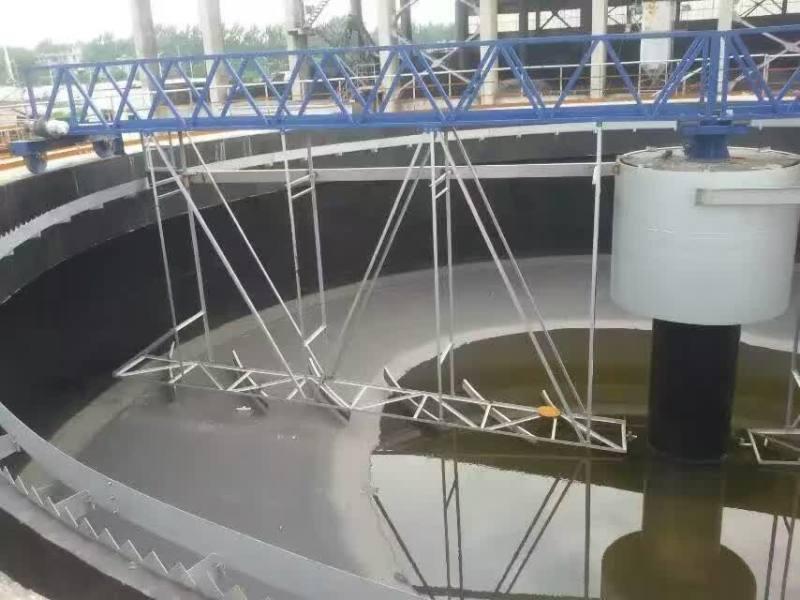 中心传动刮吸泥机