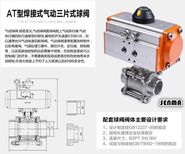 <strong>气动不锈钢焊接球阀Q661F</strong>