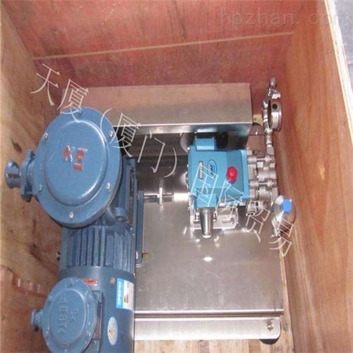 高压柱塞泵Q=5.0m3/h,H=600m