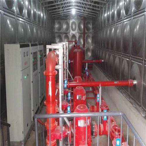 不锈钢消防地上式泵箱一体化