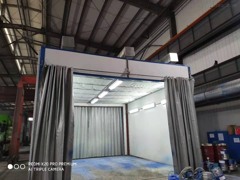 黄山侧吸式喷漆房设备生产厂家