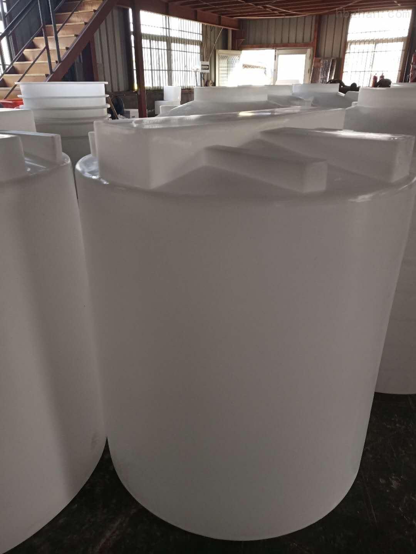 谦源1立方PE计量箱 大型塑料搅拌罐