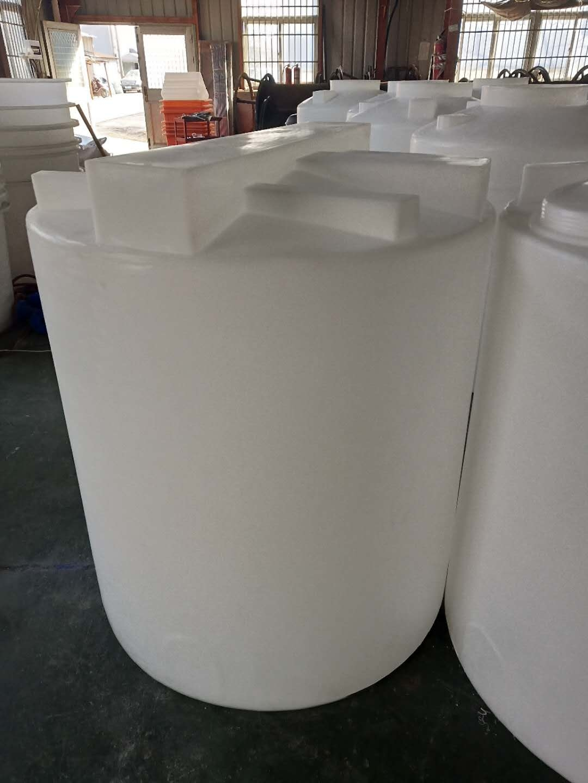 谦源1立方塑料加药桶 外加剂溶解槽