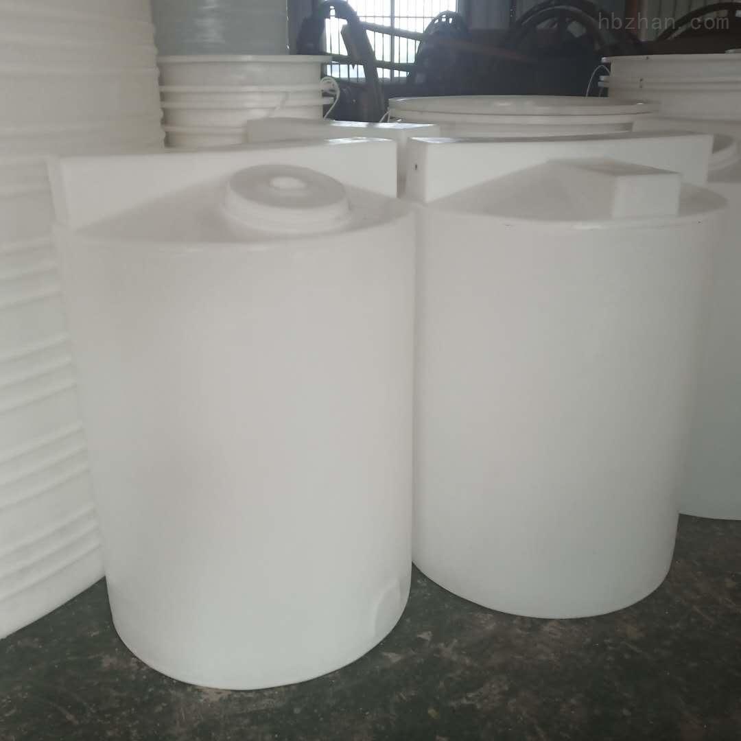 谦源1立方塑料加药箱 絮凝剂搅拌罐