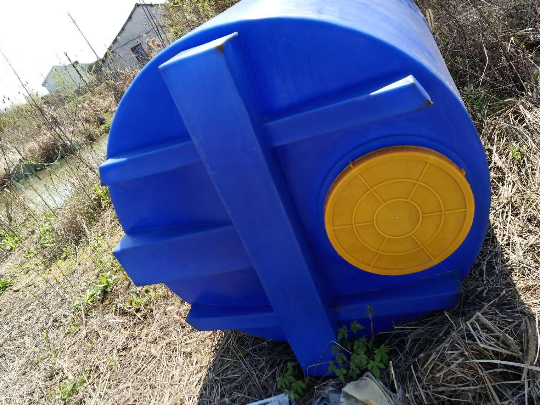 谦源1吨塑料加药箱 外加剂溶解槽