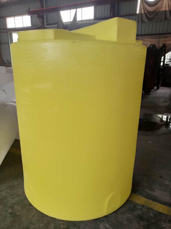 谦源2000L塑料搅拌桶 氢氧化钠搅拌罐