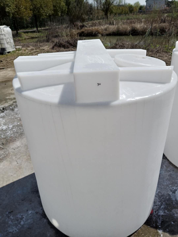 谦源2000L塑料搅拌罐 苛性钠储罐