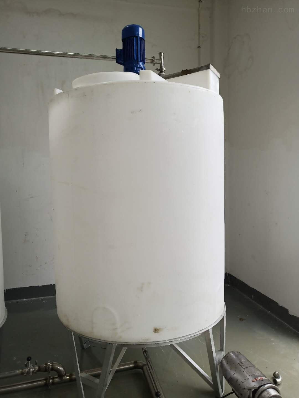 谦源2000L塑料搅拌罐 液碱搅拌桶