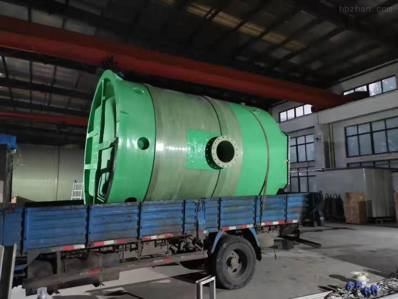 克拉玛依GRP污水提升泵站厂家直销