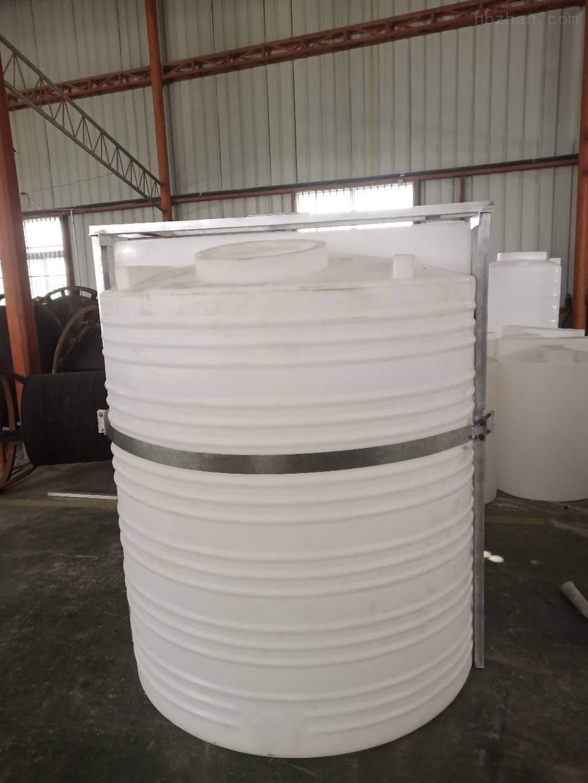 谦源3吨塑料加药桶 铬酸储罐