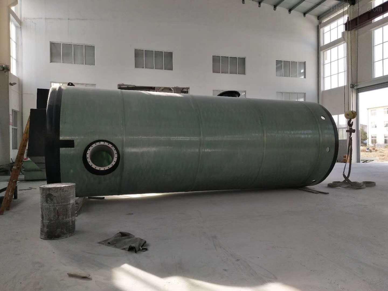 绥化一体化污水提升泵站型号