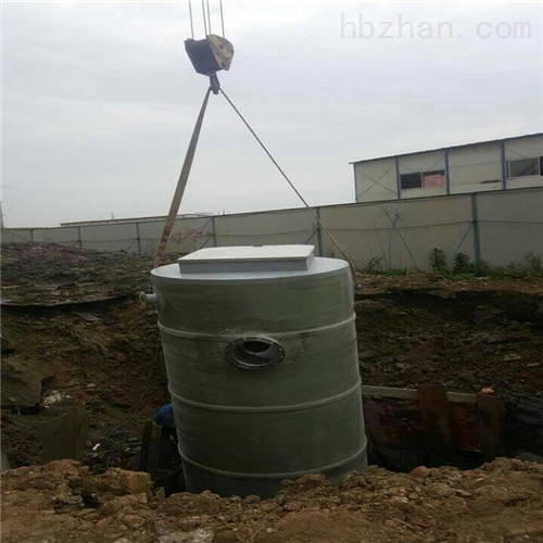 地埋式玻璃钢一体化预制提升泵井