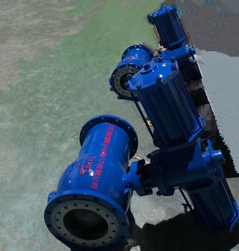 钢铁厂气动卸灰球阀