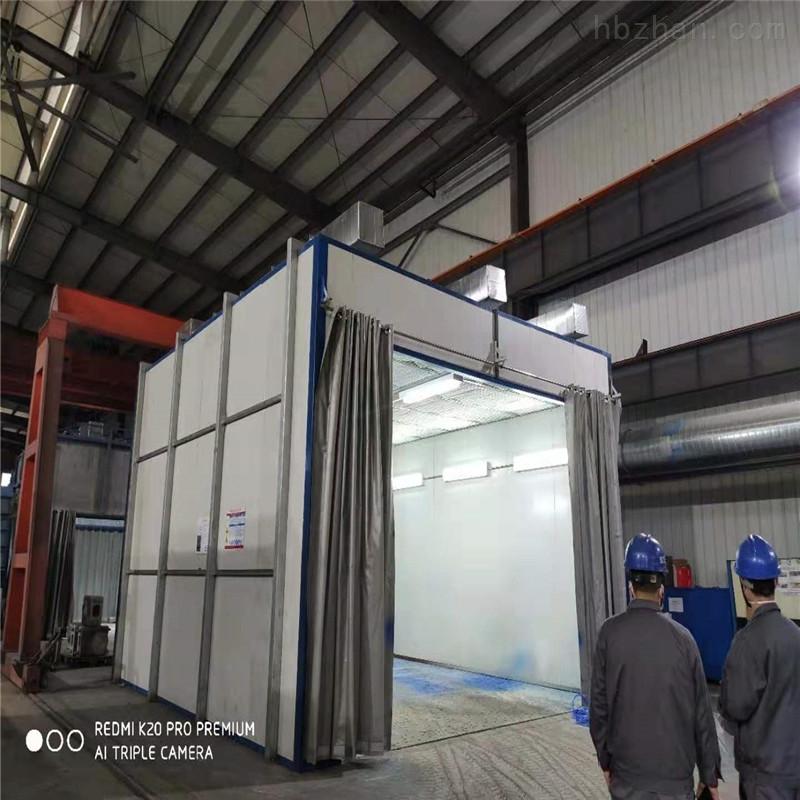 安徽侧吸式喷漆房设备生产厂家