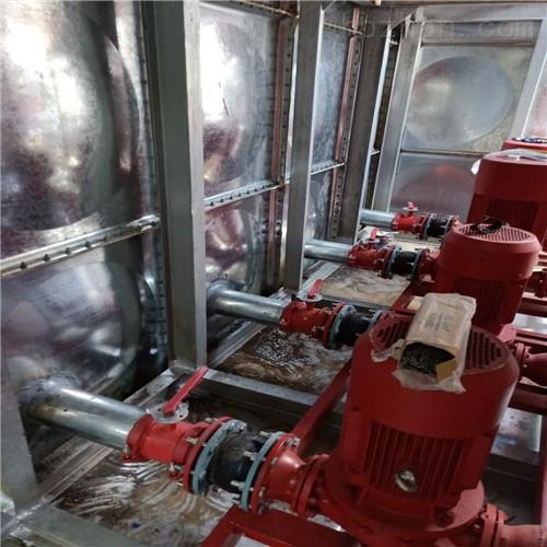 <strong>消防地埋式箱泵一体化设备组成和内部结构</strong>