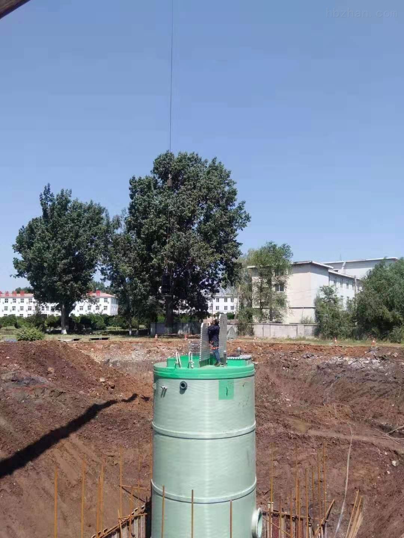 张家口雨水提升泵站厂家报价