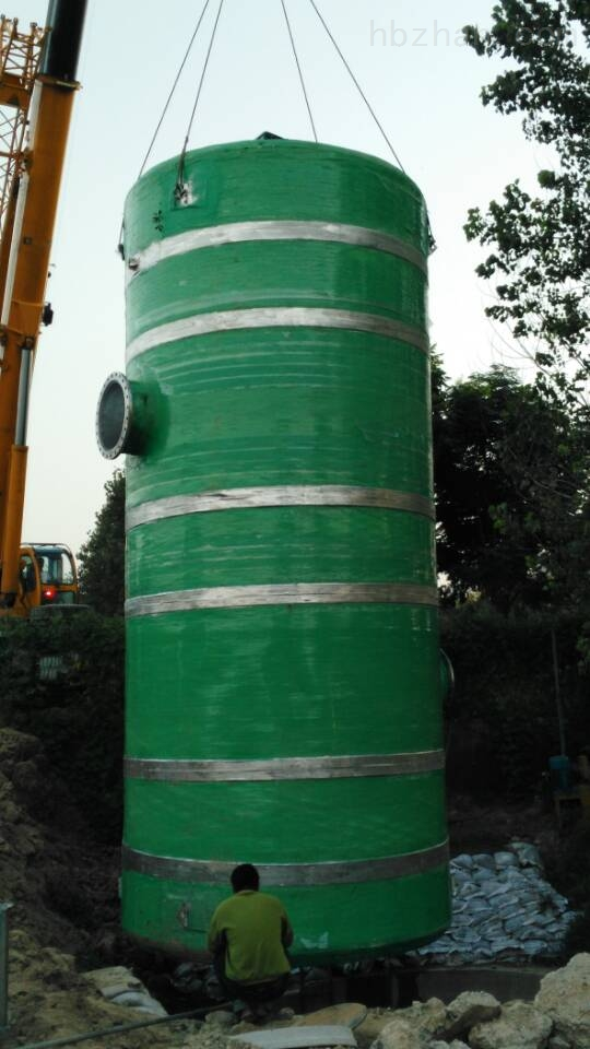河池一体化污水提升泵站*