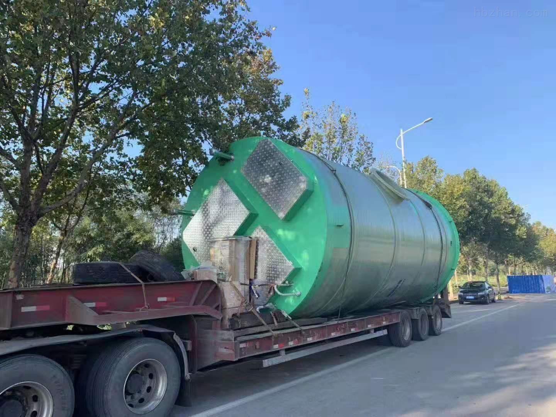 黑河雨水提升泵站生产厂家