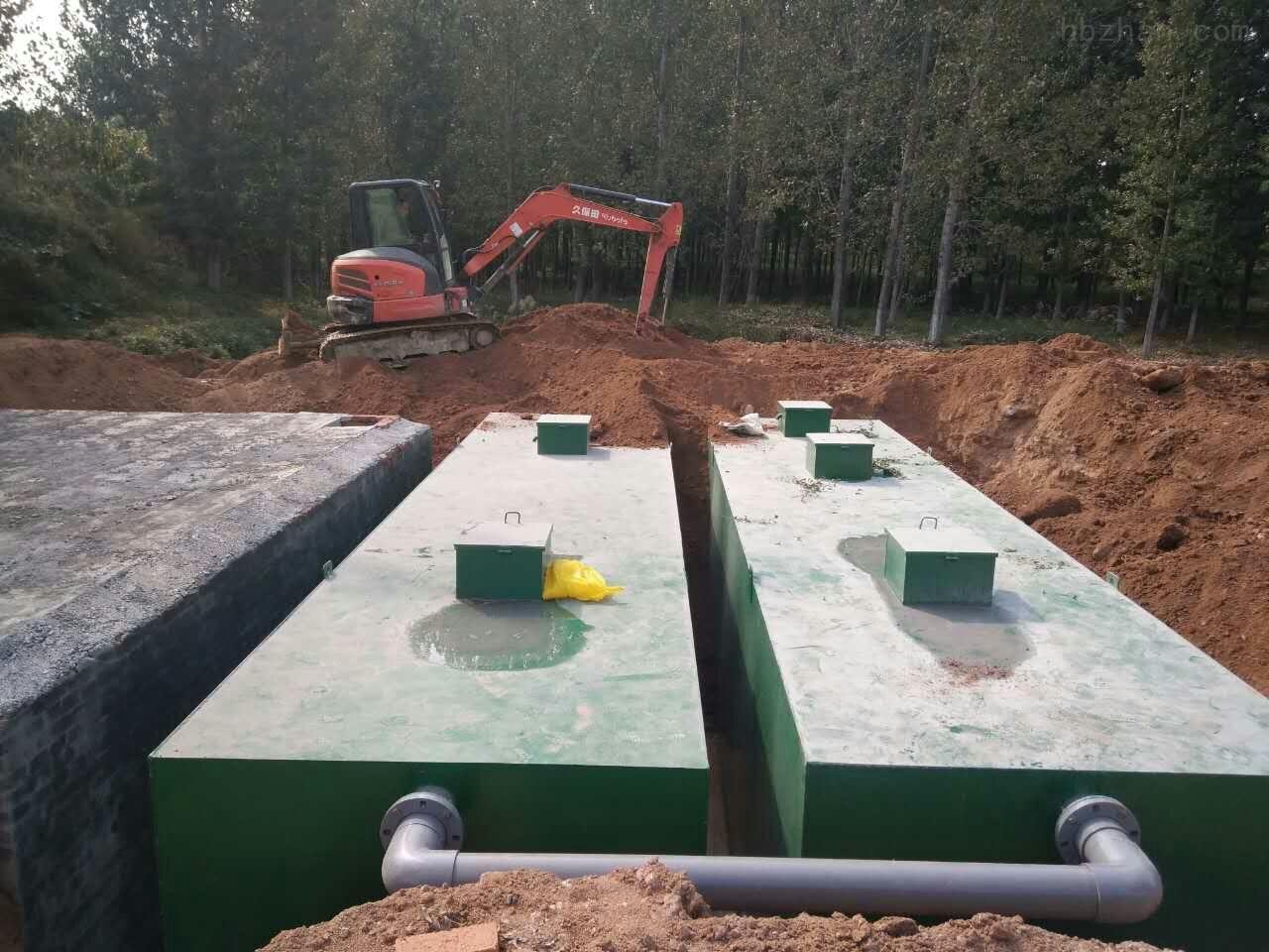 长治食品厂污水处理设备安装环境
